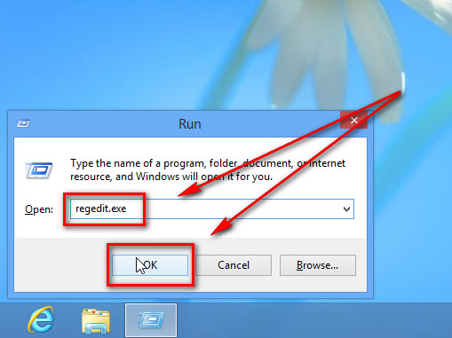 windows 8 registry editor